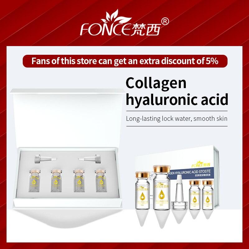 Купить с кэшбэком Korean Skin Care Hyaluronic acid hyaluronzuur Serum Anti Aging Serum Firming Moisturizing Bright Tone shrink acido Face Care Set