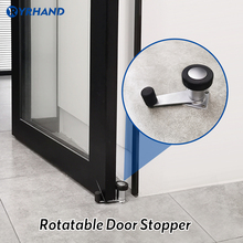 Smart Lock Accessory Door Rotatable Lock Stainless Steel Door Stopper for Electronic Lock Door Protection For Home Security