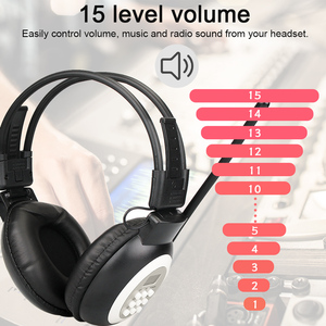 Image 4 - Retekess TR101 Walkman kulaklık radyo FM Stereo kulaklık radyo alıcısı dijital FM işitme koruyucu kulaklık desteği AUX girişi