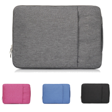Double zipper Tablet notebook bag Laptop Case sleeve For Apple MacBook Pro Air Retina 11 12 13 15 Mac Book 15.4 13.3 inch