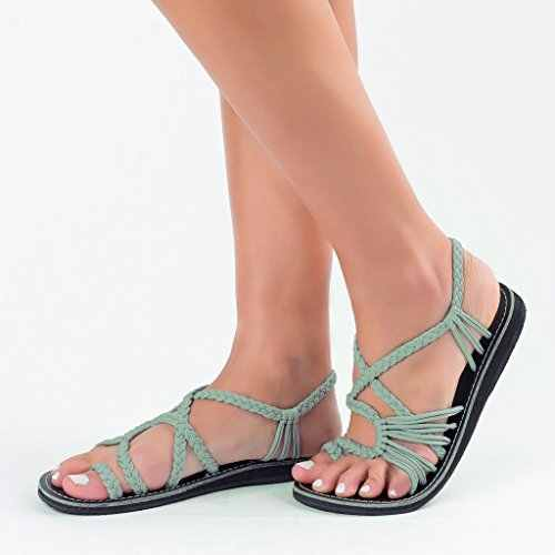 Frauen Sandalen 2019 Sommer Gladiator Sandalen Frauen Flache Beiläufige Schuhe Slip-on Flip-Flops Strand Schuhe Flache Sandalen Niedrigen ferse