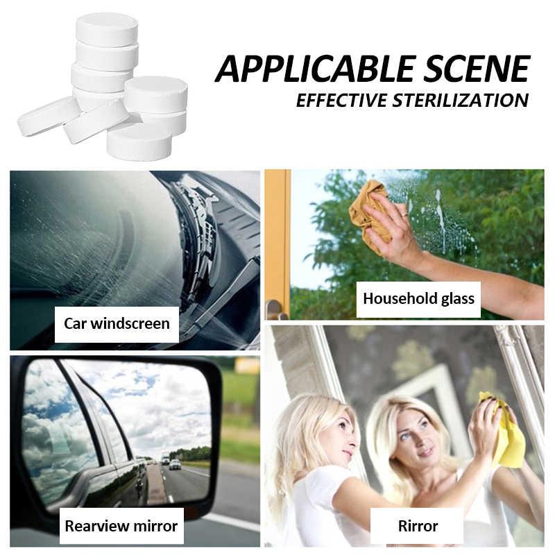 Auto Ruitenwisser Essentie Solide Auto Desinfectie Bruisende Tablet Geconcentreerd Schoner Glas Water Wisser Auto Schoonmaken Auto Accessoires