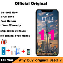 Original Repair Lcd For iPhone 11 Screen Replacement For iPhone11 Display with 3D touch digitizer parts True Tone assembly
