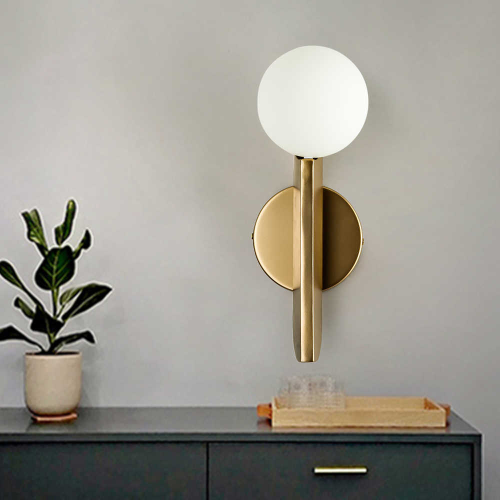 Zerouno criativo conduziu a lâmpada de parede luz bola bolha arandelas de parede g9 220 v conduziu a lâmpada para casa café do hotel sala estar decoração