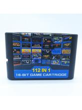 112 in 1 Hot Game Collection For SEGA GENESIS MegaDrive 16 bit Game Cartridge For PAL and NTSC Drop shipping