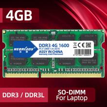 DDR3 RAM 4Gb 1066 1333 1600MHz PC3-10600 12800 8gb dla Laptop pamięć do notebooka SODIMM 1 5v 1 35v ddr3l 2GB PC3-8500 komputera 16gb tanie tanio HEORIADY 1600 MHz CN (pochodzenie) DDR3 2021 1 5VV 1066MHz 1333MHz 1600MHz 1866MHzMHz 2GB 4GB 8GB