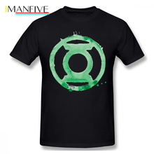 Green Lantern T Shirt Coffee Symbol - T-Shirt Awesome Graphic Tee Man Cotton Streetwear Short Sleeves Tshirt