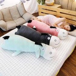 Abajo algodón pequeño asno de peluche muñeca niños pijama mantener almohada larga suave y adorable Animal muñeca regalo de cumpleaños