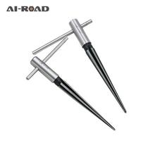3-13 мм 6 рифленый мост штыревой отверстие расширитель конический деревообрабатывающий режущий инструмент Контактное отверстие ручной расширитель Т-образная ручка коническая фаска
