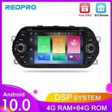 """Android 9.0 samochodowe nawigacja gps odtwarzacz dvd dla Fiat Tipo Egea 2015 2016 2017 4G RAM audio wideo radio fm RDS Stereo 7 """"Multimedia"""