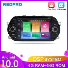 "Android10.0 Car GPS Navigation DVD Player for Fiat Tipo Egea 2015 2016 2017 4G RAM Audio Video Radio FM RDS Stereo 7"" Multimedia"
