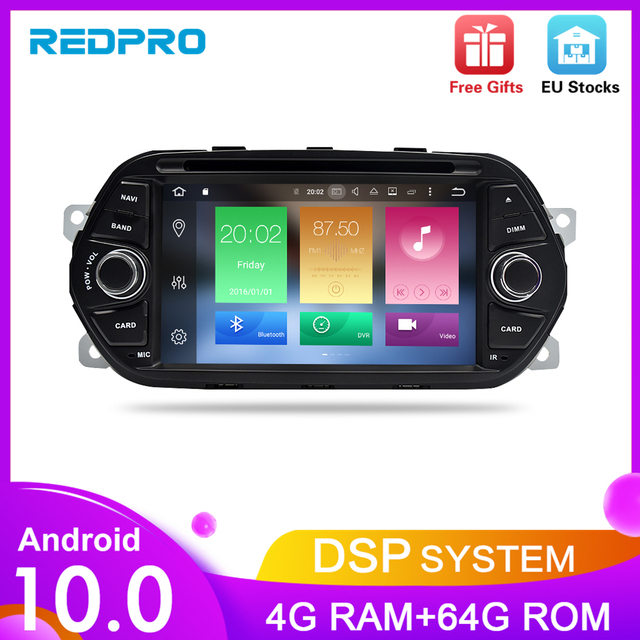 """Android10.0 Car GPS Navigation DVD Player for Fiat Tipo Egea 2015 2016 2017 4G RAM Audio Video Radio FM RDS Stereo 7"""" Multimedia"""