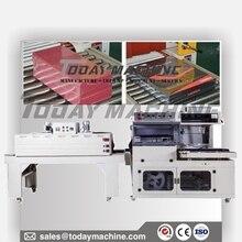 Semi Automatic POF Film Sealer Carton Box Case touch screen Bar Sealing Heat Shrink Tunnel Wrap Packaging Machine