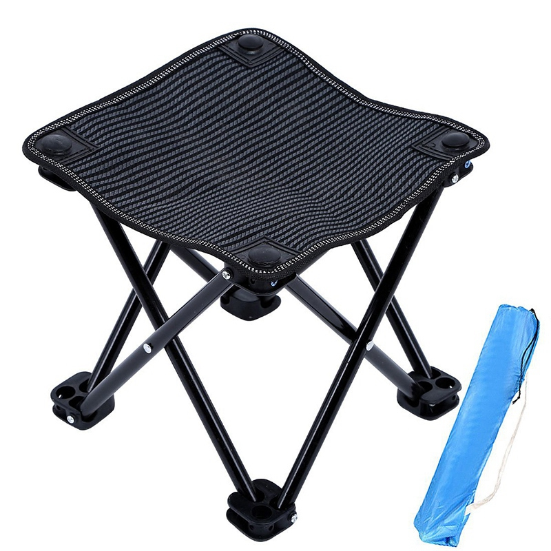 Outdoor Folding Bench Portable Camping Beach Fishing Bench Painting Bench Sketching Bench Train Little Maza Bench Outdoor Tools     - title=