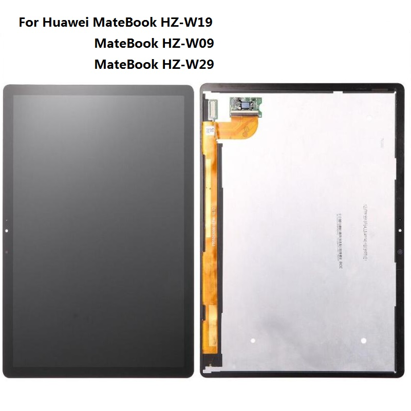 12 inch LCD Display Matrix with Touch Screen Digitizer Sensor Assembly For Huawei MateBook HZ-W19 MateBook HZ-W09 tablet