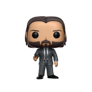 Movie John Wick Chapter 3 Action Figure Toys #387 Vinyl Decoration Collection Model Dolls for Kids Christmas Gifts 2