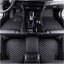 цена на Custom 5 Seat Car Floor Mats for bmw 3 Series E90 F30 G20 Compact E36 Convertible E93 3 Coupe E46 E92 Touring E91 f31 car mats