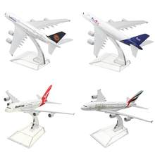A380 AUSTRALIA QANTAS Collection Model 16CM Airplane Metal Plane Model Aircraft Model Building Kits Toy For Children(China)