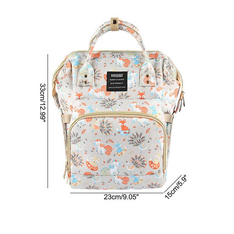 مومياء الأمومة أكياس حفاظات مقاوم للماء سعة كبيرة حقيبة ظهر للأطفال للامهات عربة منظم المرأة المتسوق حقيبة الموضة 2020