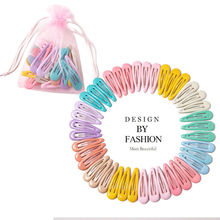 Snap Barrettes Candy Color Hairpins