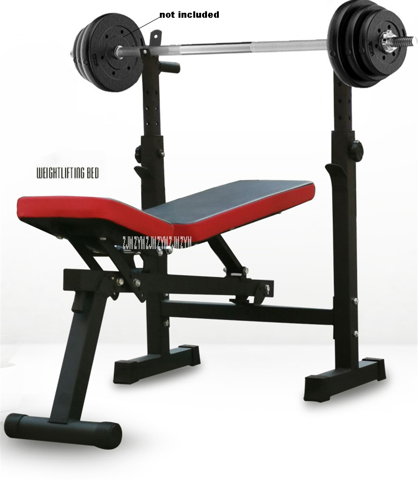 Details about  /ADJUSTABLE WEIGHT BENCH Press Barbell Rack Exercise Strength Training Workout