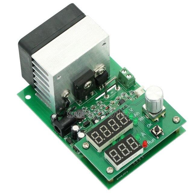 60 w 30 v 0 ~ 9.99a 정전류 전자 부하 lcd 디지털 디스플레이 방전 배터리 용량 측정기 방열판 팬