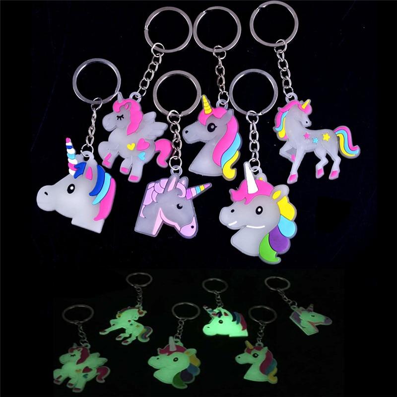 Luminous-Fairytale-Unicorn-Keychain-Holder-Bag-Phone-Charm-Pendant-Gift-Jewelry