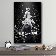 Unframed The Poster Decoration Painting of NieR:Automata on HD Canvas  canvas painting art wall art canvas  painting pictures