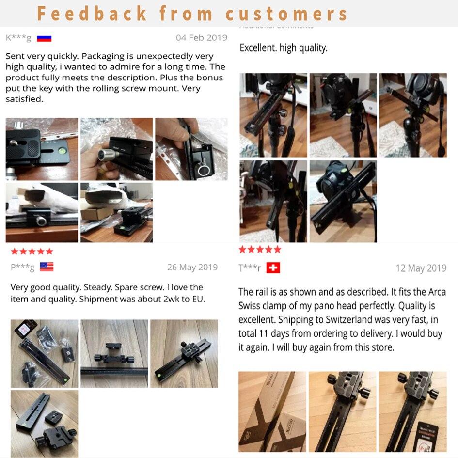 XILETU LCB-24B трек Долли слайдер фокусировка фокус рельс ползунок и зажим и qr-пластина Meet Arca Swiss для DSLR камеры Canon
