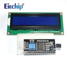Pantalla LCD LCD1602 módulo pantalla azul 1602 i2c Módulo de pantalla LCD HD44780 16x2 IIC carácter 1602 5V para pantalla lcd arduino