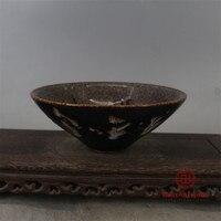 Song Jizhouyao Paper Cutting Phoenix Douli Bowl Tea Cup Old Goods Antique Vase Decoration Porcelain Collection Retro Home Decor