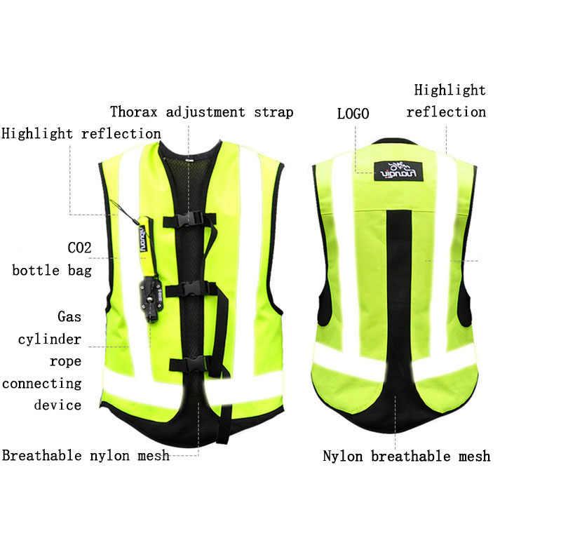 Moto rbike-gilet d'airbag professionnel pour course, système de protection pour motocyclette