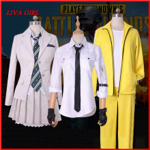 Cosplay Costumes Playerunknown's Battlegrounds PUBG Jacket Hooded Cloak Game Ages-Trench