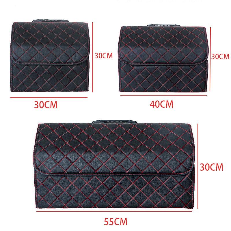 Image 5 - Car Trunk Organizer Multipurpose PU Leather Folding Car Trunk Storage Box Bags Stowing Tidying  For Car SUVStowing Tidying   -