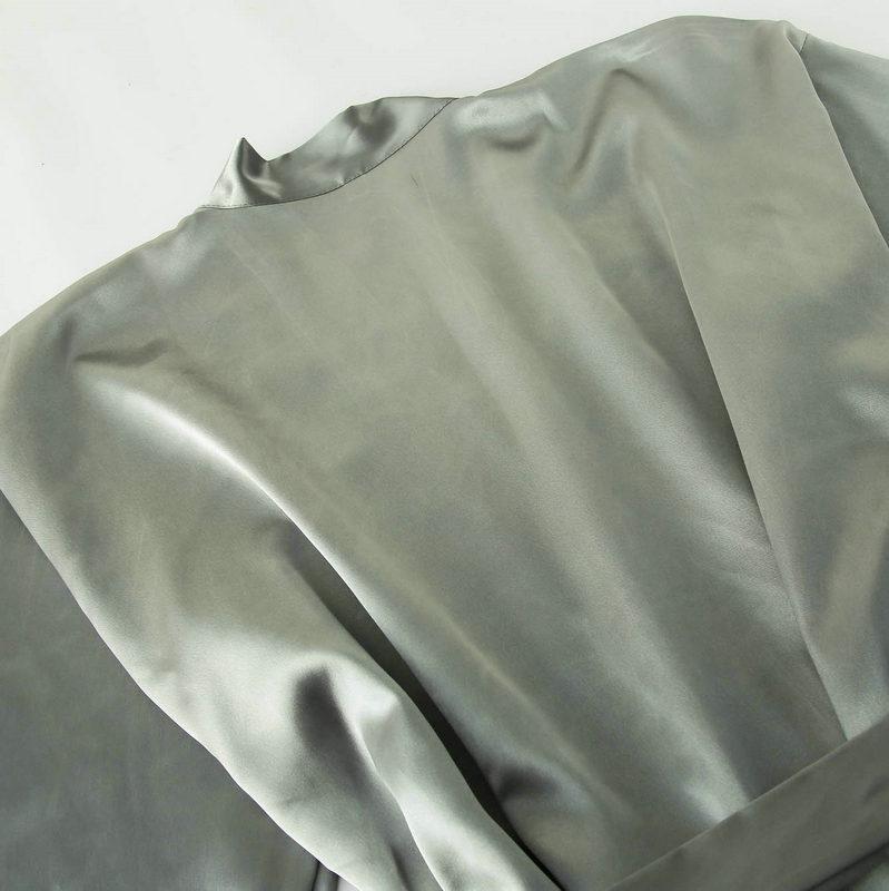 Женское атласное шелковое платье невесты персонализированное