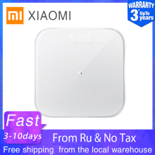 Умные весы XIAOMI MIJIA Mi 2 весы для ванной цифровые электронные похудения Bluetooth фитнес светодиодный экран приложение для детей с животными