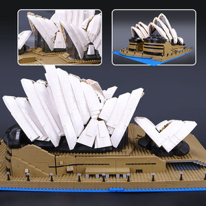 Image 5 - 88003 Expert Set Creator Sydney Opera House Compatible 10234 Building Blocks Bricks Birthday Birthday Christmas Gifts Toys