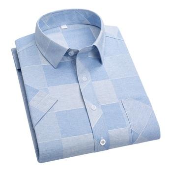 DAVYDAISY 2020 New Arrival wysokiej jakości letnia koszula męska koszule z krótkim rękawem człowiek druku koszula mężczyzna marki miękkie ubrania DS319 tanie i dobre opinie Polyester COTTON Casual Shirts Skręcić w dół kołnierz Pojedyncze piersi REGULAR Suknem Na co dzień Print Men Shirts