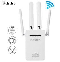 Беспроводной Wi-Fi репитер 300 Мбит/с 2,4 ГГц