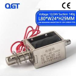 KK 1040B DC 12V 24V kepping życie 2 40N podróży 12mm Push i typu Pull 1040B otwarta ramka elektromagnetyczny elektromagnes liniowy elektromagnetyczny na