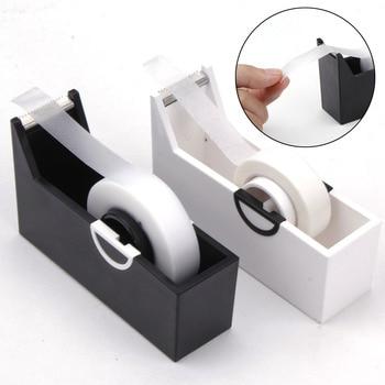 1pc Eyelashes Extension Tape Cutter Dispenser Adhesive Tape Holder Grafting Eyelash Plastic Rotating Tape Cutting Makeup Tools 1