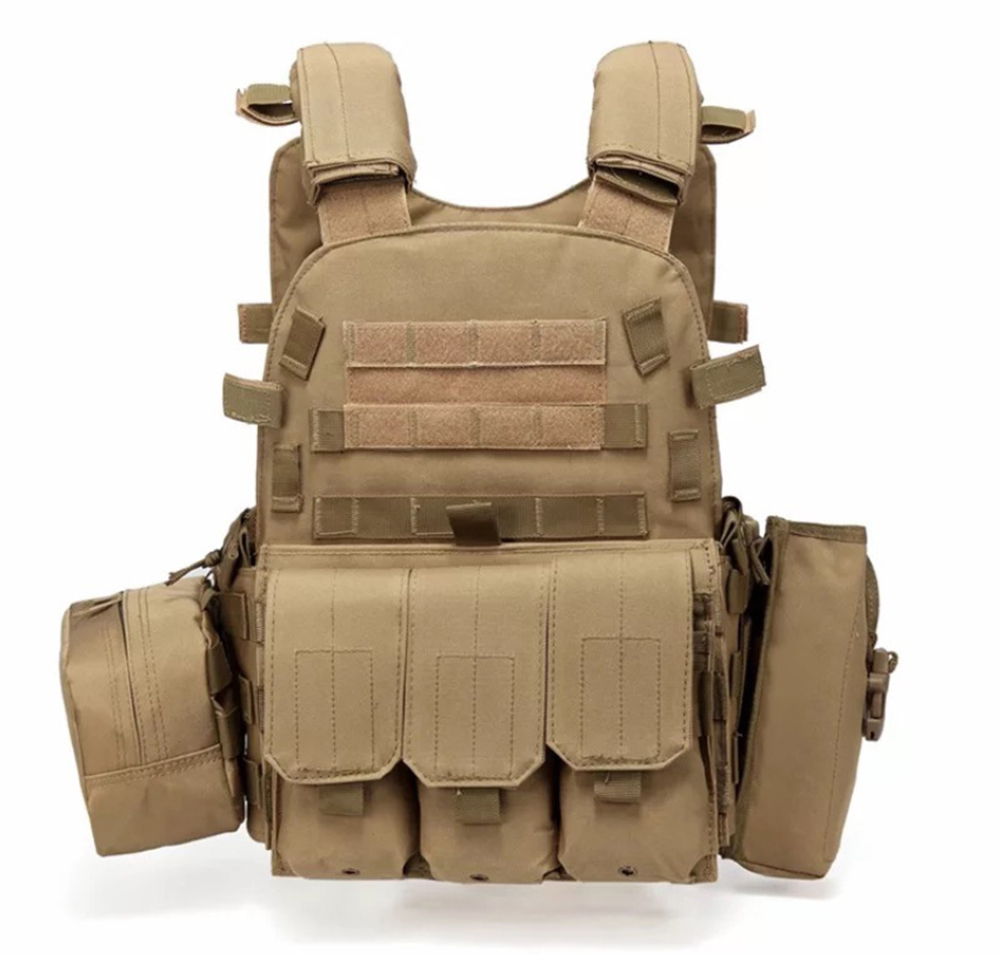 Hunting Airsoft Tactical Body Armor Military Vest Molle Combat Assault Plate Outdoor CS Clothing
