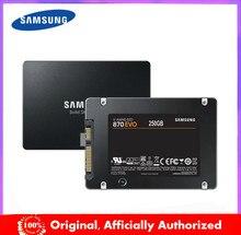 SAMSUNG-disco duro interno de estado sólido para ordenador portátil, unidad SSD de 1TB, 870 GB, 250GB y 2TB, modelo 500 EVO