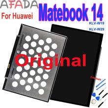 Оригинальный 14 дюймовый дисплей для huawei matebook klv w19