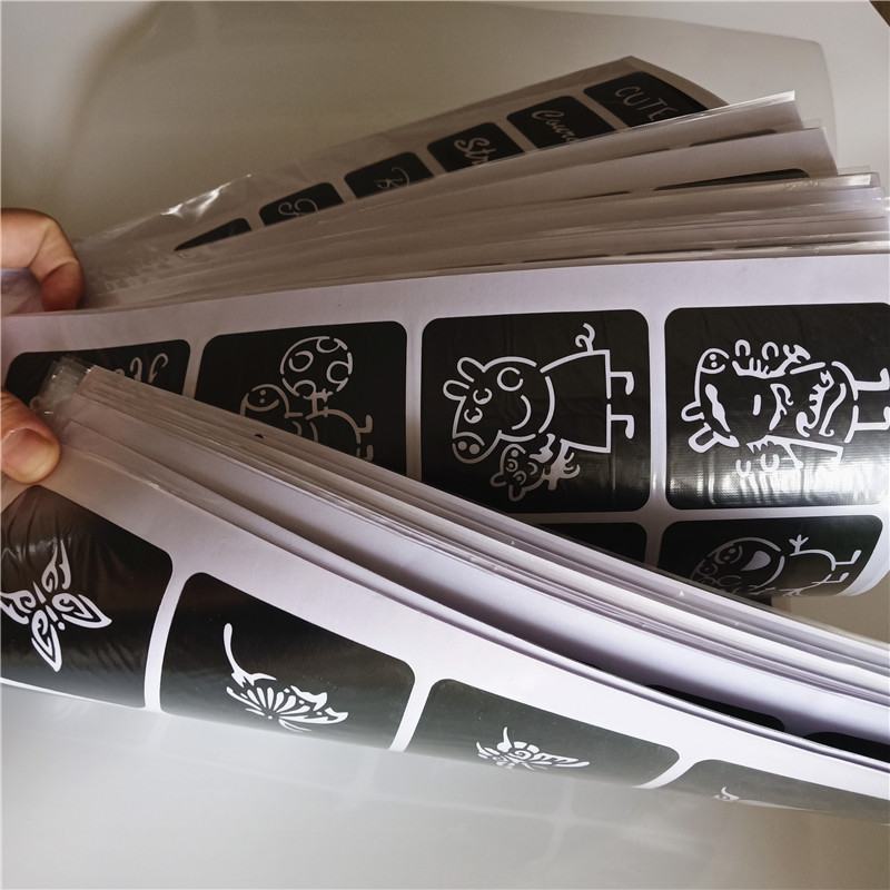 40 Sheet 1000 Maps Glitter Tattoo Drawing For Painting Airbrush Templates For Henna Template Stickers