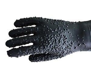 Image 5 - Grands gants de sablage épais, support et pince pour le sablage, support à gants