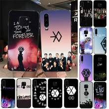 TOPLBPCS Kpop exo telefon kapak için Huawei onur 7A 8X 9 10 20 lite 10i 20i 7C 8C 5A 8A onur oynamak 9X pro Mate 20 lite