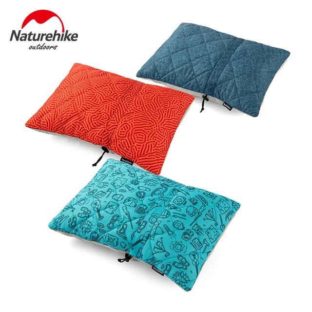 Naturehike Viagem Dobrável Travesseiro Esponja Peso Leve E Macio Portátil Ultraleve Caminhadas Camping 3 Cores NH19ZT001