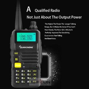 Image 4 - Quansheng UV R50 2 Nâng Cấp Di Động Bộ Đàm VHF UHF Băng Tần Comunicador HF Thu Phát UV R50 1 UV R50 Series Uv 5r