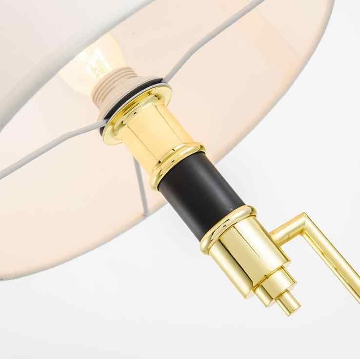 Скандинавские современные минималистичные прикроватные лампы, креативные скандинавские модные лампы для гостиной, настольная лампа из ткани для спальни